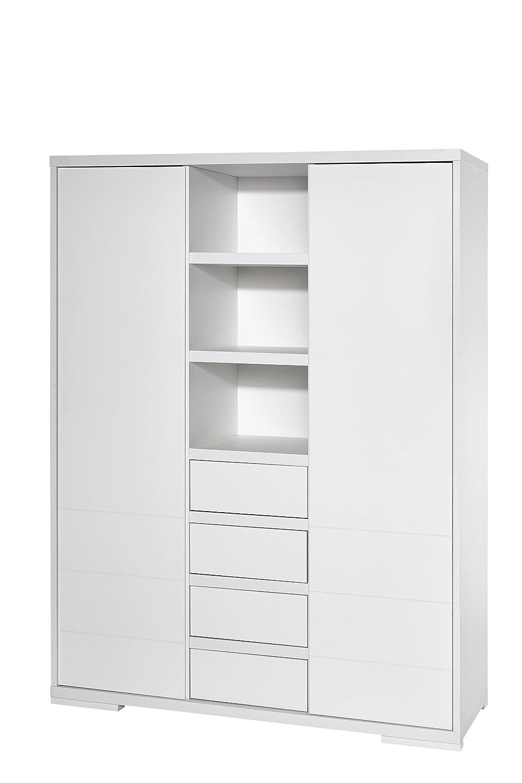 Schardt 06 863 52 02 Kleiderschrank mit 2 Türen Maxx White