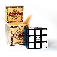 Mastery El Cubo Rubik 3x3 Más Vendido #1; Agiliza tú Mente; Cubo Mágico de Competencia; Giro Rápido, Suave y Resistente. Garantía de Devolución!