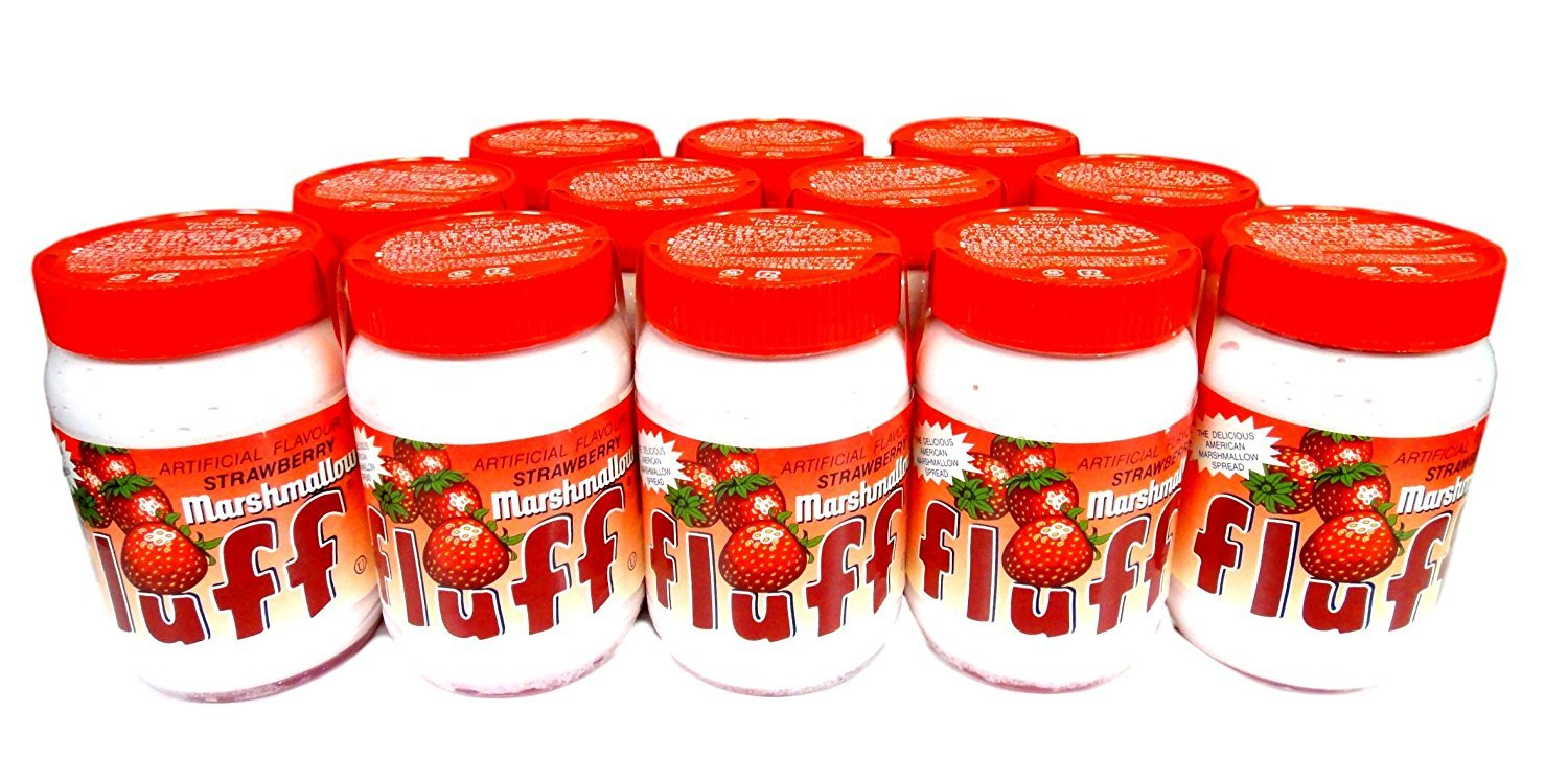 Durker-Mower Strawberry Marshmallow Fluff 7.5 oz - Pack of 12 by Fluff