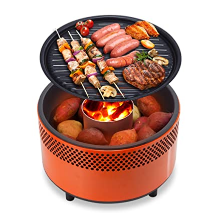 Amazon.com : SUNDAY-QH Grill BBQ Grill Charcoal Grill Home Portable ...