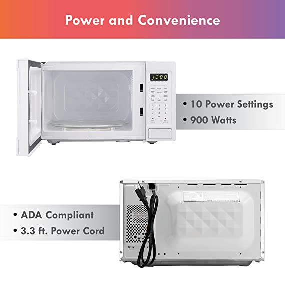 Amazon.com: Kenmore 70922 0.9 cu. Ft microondas de encimera ...