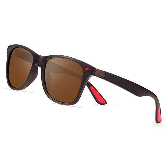 FEIDU Gafas de sol para hombre Wayfarer Polarizadas Gafas de sol Wayfarer para hombre Mujer FD4050