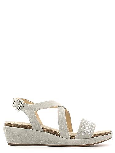 it Scarpe Basso Donna Suede Amazon Sandalo Borse Geox Zeppa E Abbie xORq00