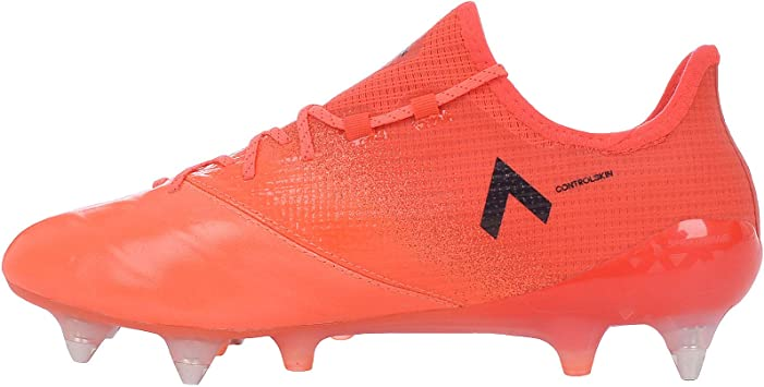 adidas ACE 17.1 SG Leather Homme Chaussure de Football Lacets Sport Football Orange