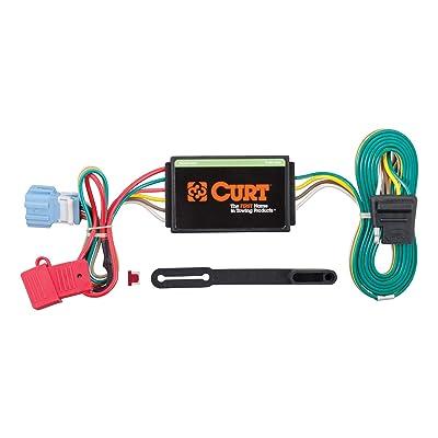 CURT 56008 Vehicle-Side Custom 4-Pin Trailer Wiring Harness for Select Honda Accord Crosstour, Acura RDX: Automotive