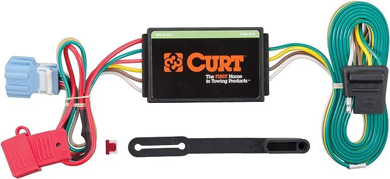 Amazon.com: CURT 56008 Vehicle-Side Custom 4-Pin Trailer Wiring Harness for  Select Honda Accord Crosstour, Acura RDX: Automotive