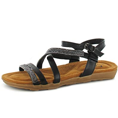 c4e8775c7e5 Ella Kate Womens Sandals  Amazon.co.uk  Shoes   Bags
