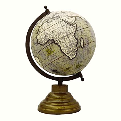Globes For Sale >> Amazon Com Craftstribe 13 Desktop Rotating Globe World Map Earth