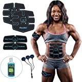 Flextone Abs Stimulator - FDA 510K Cleared - Six Pack Ab Muscle Toner for Men, Women - Electronic Power Abdominal EMS…