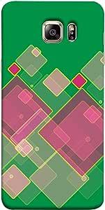 ColorKing Samsung S6 Case Shell Cover - Blocks Multi Color