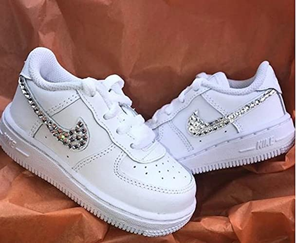 f07b0c2a855bd Baby air force 1, Bling baby shoes, baby girl nike shoes, baby girl shoes,  Baby shower gifts, shoes for baby girl, girls air force ones, girl air force  ...