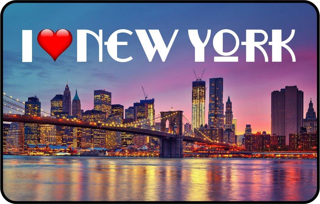 cadora Targa magnetica calamita Frigo I Love New York I