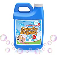 HOMILY Bubbles Solution 32 oz (up to 2.5 Gallon) Concentrated Bubble Refill Solution for Bubble Machine
