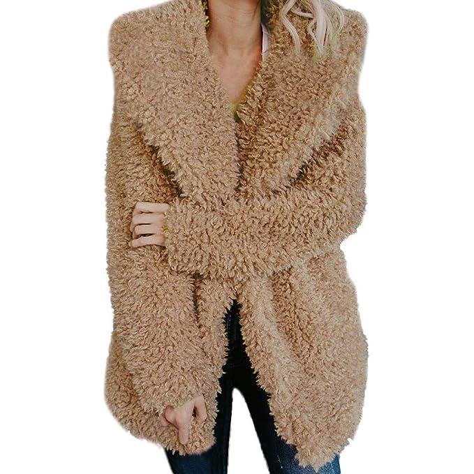 Abrigos Mujer Pelo Sintetico Forro Polar Frio Extremo Chaqueta Nieve Ultra Warm Felpa Suéter Vintage Original