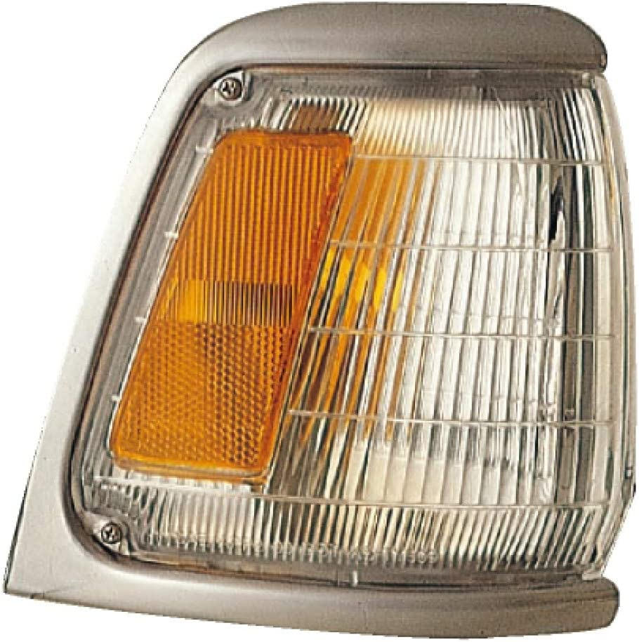 Fits 1989-1991 Toyota Pickup Front Parking//Cornering Light Passenger Side 2WD w//Chrome For TO2521124
