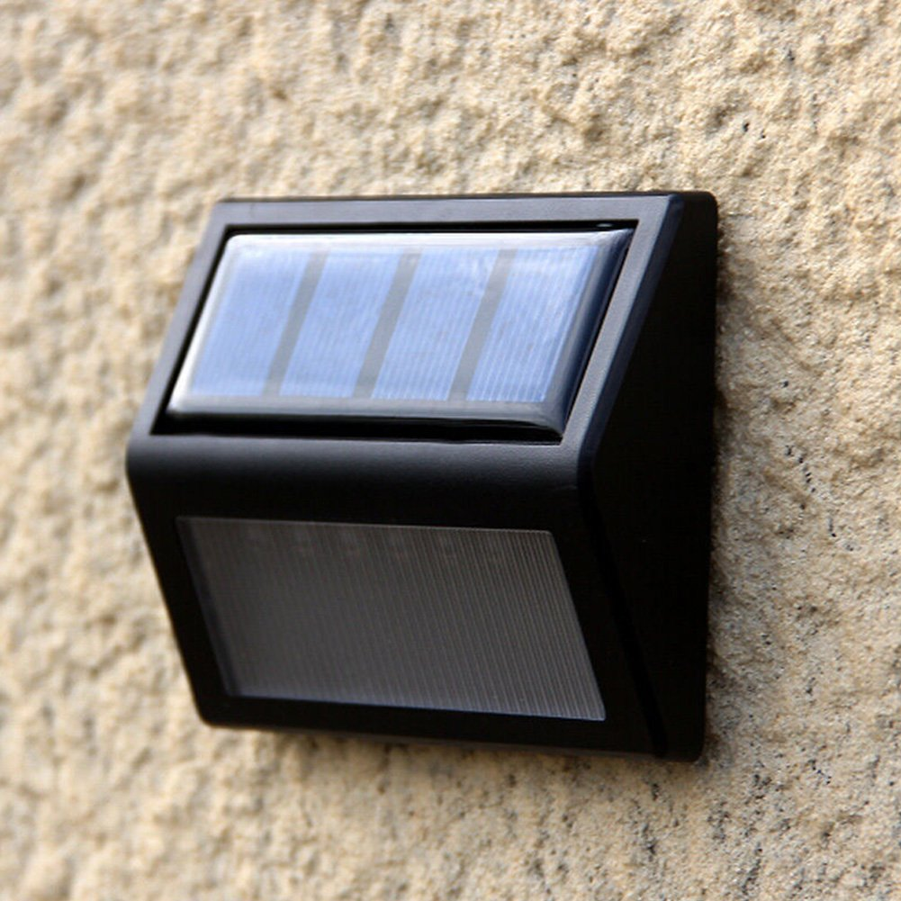 Amazon.com: DSstyles 5pcs Light-Sensor 6 Beads LED Lamp Light Waterproof Solar Energy Powered for Stairs Staircase Wall Steps Corridor Garden Landscape ...