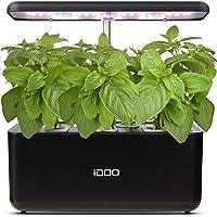 iDOO Hydroponics Growing System, Smart Indoor Herb Garden Kit with LED Grow Light, Indoor Gardening for Home Kitchen…