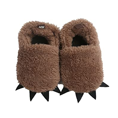 cac66f4a115 Vanbuy Baby Boys Girls Shoes Bear Paw Animal Slippers Boots Newborn Infant  Crib Shoes WB28-