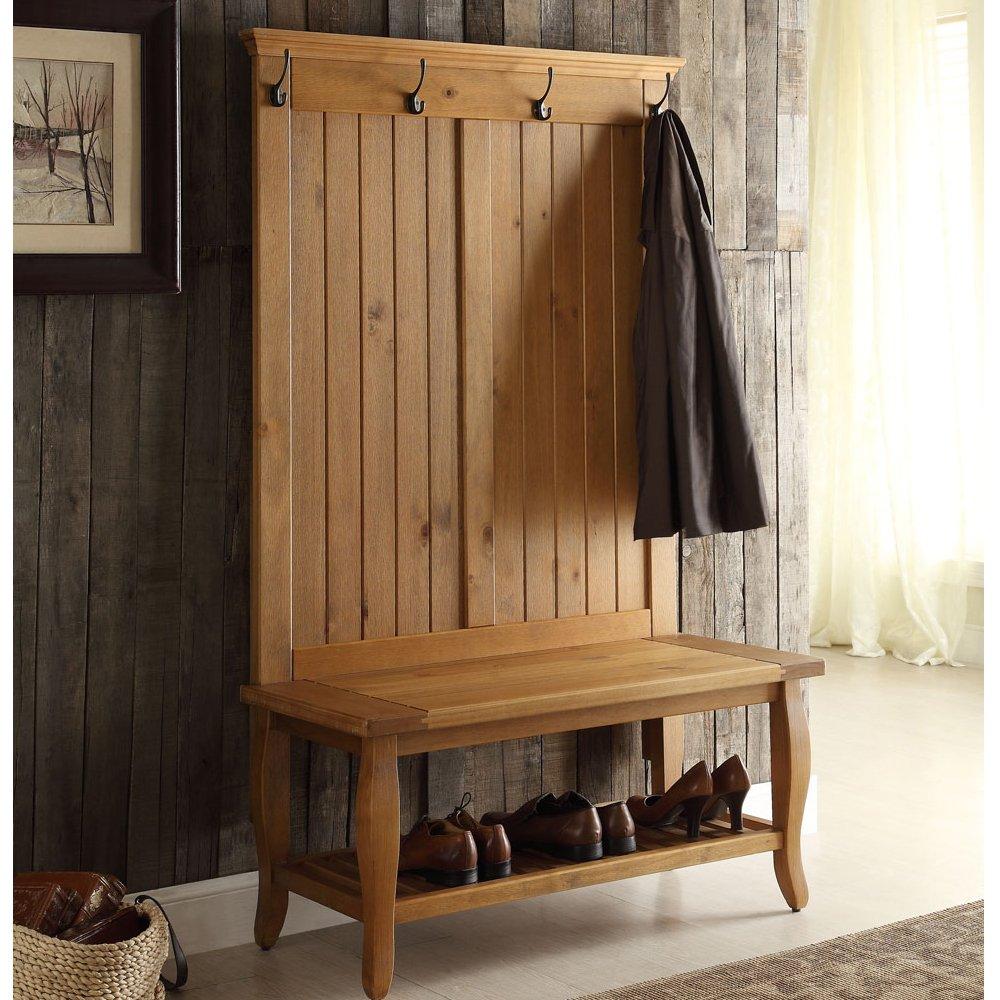 Amazon.com: Linón de Santa Fe Árbol de salón, color madera ...
