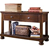 Amazoncom Furniture Of America Neviah Open Contemporary Modern - Ashley furniture hall table