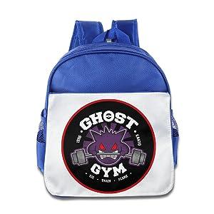 MoMo Unisex Gengar In Gym Kids School Backpack For Little Kids
