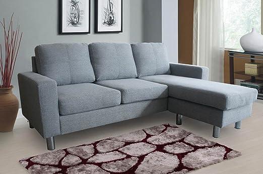Juego de 3 sofás modernos para esquina Relax nuevo, forma de ...