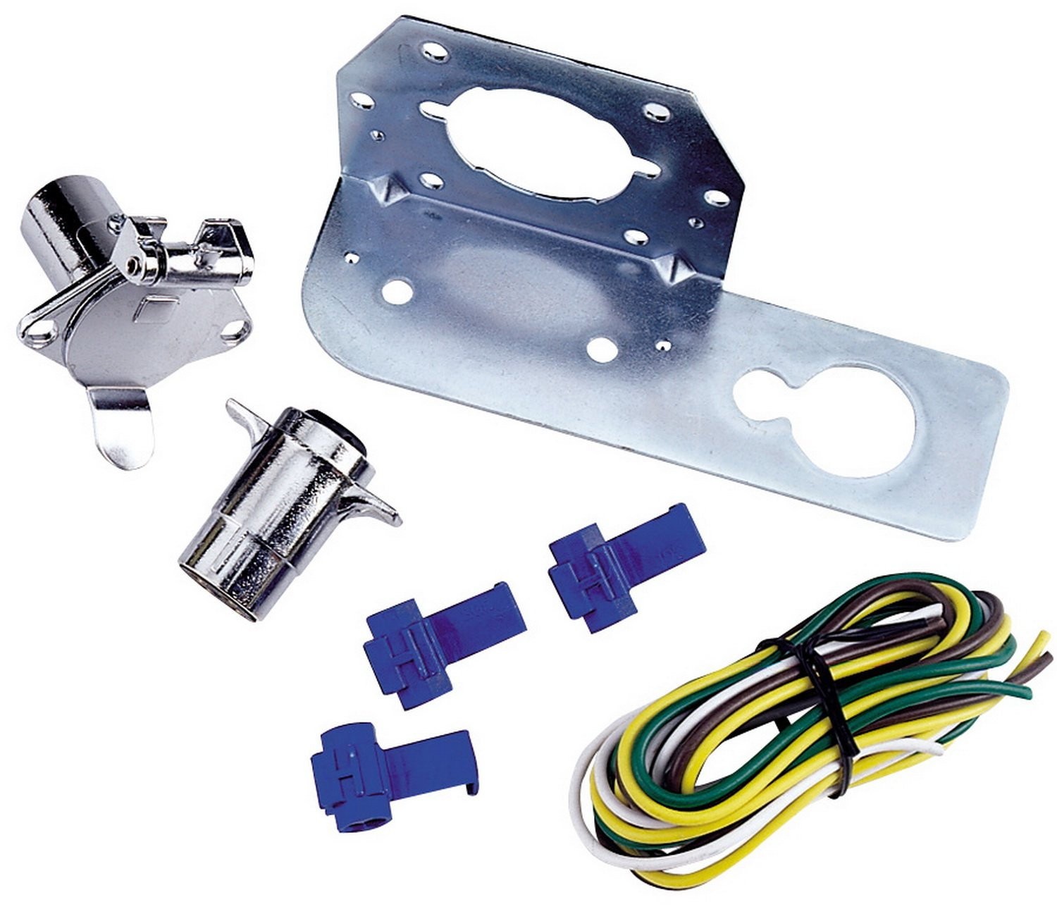 Reese Towpower 74611 4-Way Round Connector Kit
