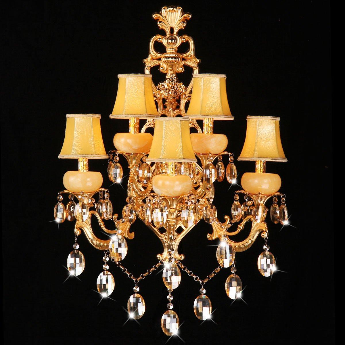 SJUN-Wandleuchte Vintage Industrielle Wandleuchte weiche Licht der Wand Licht Schlafzimmer Wand Lampen Crystal Wandleuchte