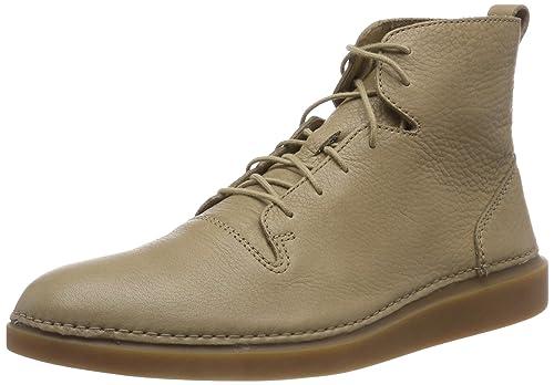 pretty nice 9a1bf 68ee1 Clarks Hale Rise, Stivali Classici Uomo, Beige (Sandstone Leather-), 40