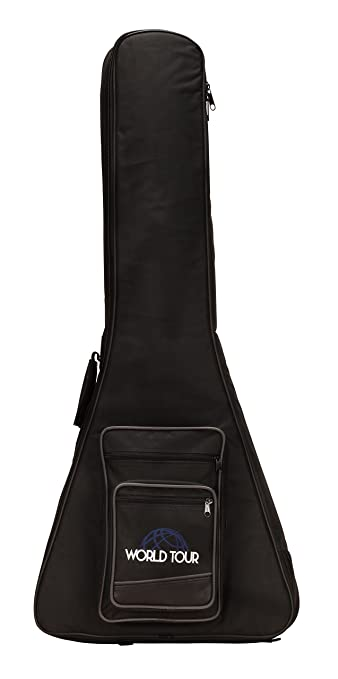 Amazon.com: World Tour - Estuche para guitarra, contrabajo ...