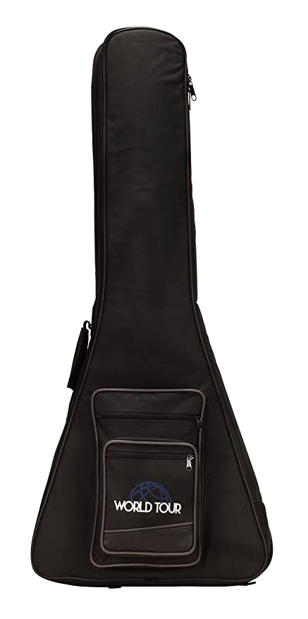 987f6424ba Image Unavailable. Image not available for. Color: World Tour Deluxe 20mm Guitar  Gig Bag for Gibson and Epiphone Flying V Guitars