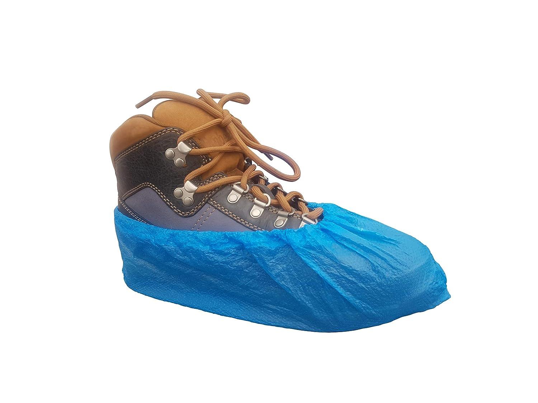 Lot de 100 couvre-chaussures jetables Bleu clair 30 /μ