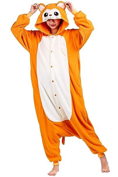 76a644bb2f Pigiama Animati Adulti Kigurumi Scimmia Gialla Cartoni Animale Cosplay da  Unisex: Amazon.it: Abbigliamento
