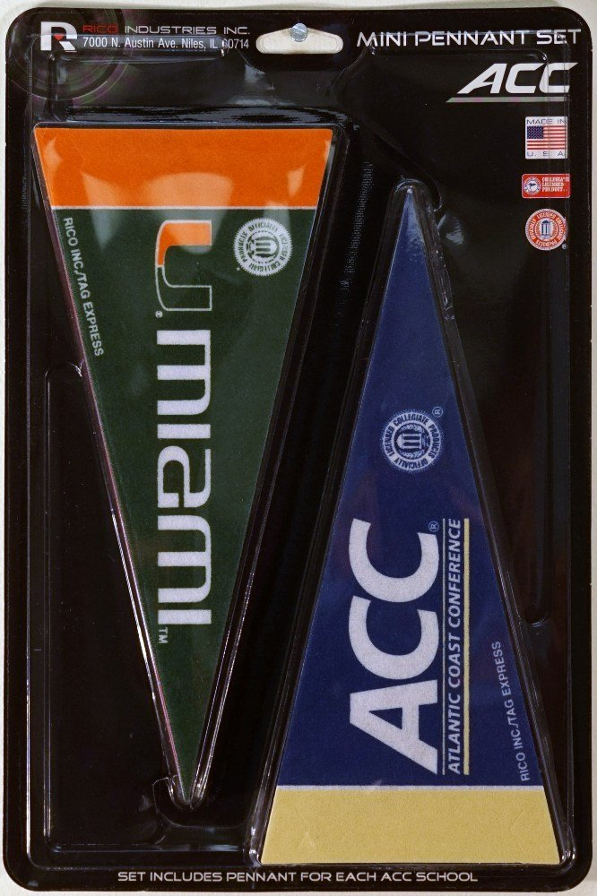 ACC Mini Pennant Set (all 12 Teams)