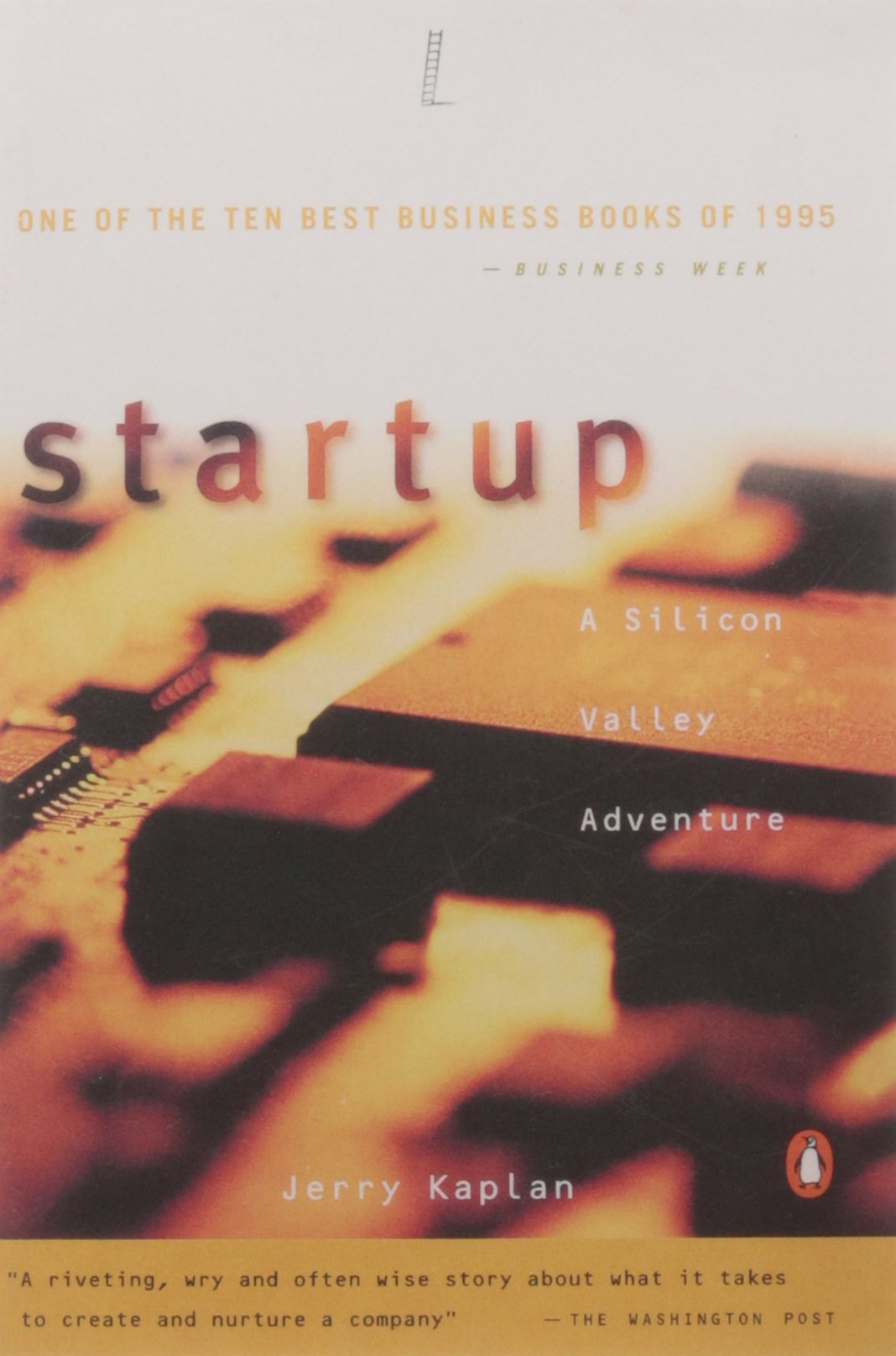 Startup Silicon Adventure Jerry Kaplan product image