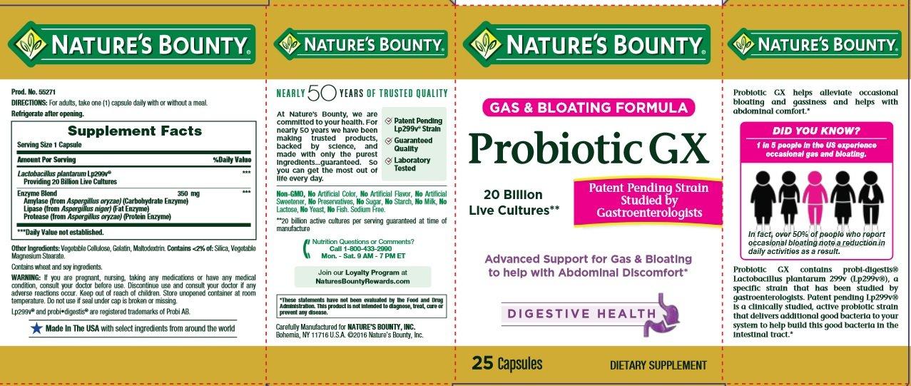 Amazon.com: Natures Bounty -Probiótico , 0074312552717, 1 ...