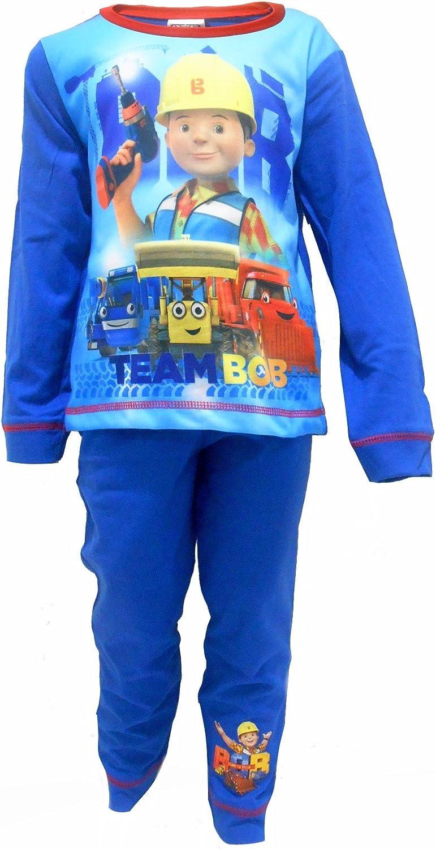 Bob the Builder Team Bob Boys Pajamas 12-18 Months Blue