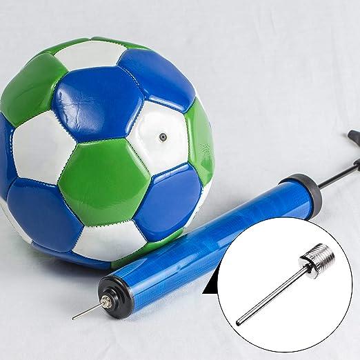 Bolas de Waterpolo u Otro Inflable Ustituci/ón YueMing 10 Piezas Aguja de Inflar Balones Agujas de Bomba de Aire de Acero Inoxidable para F/útbol Baloncesto Voleibol Rugby