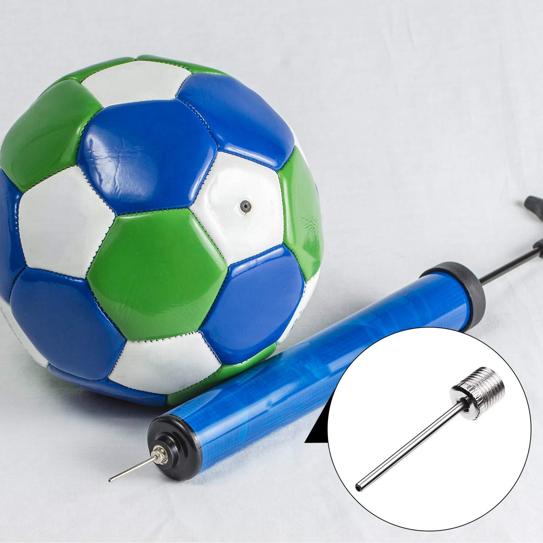 Agujas de Inflador de Baloncesto F/útbol con 2 Bolsas de Malla de Balones Yaomiao 50 Piezas de Aguja de Inflar Balones Agujas de Bomba de Aire de Acero Inoxidable para Balones Deportivos