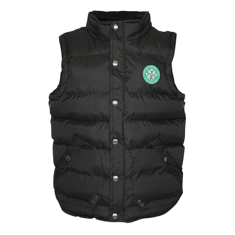 Celtic FC Official Football Gift Boys Padded Body Warmer Gilet