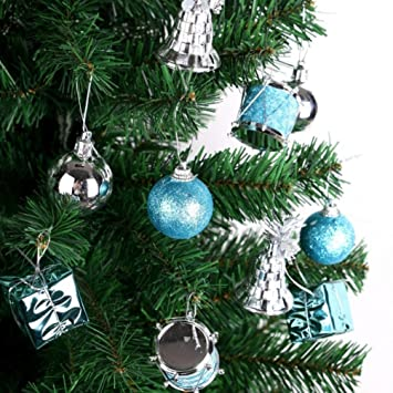 Inkach Christmas Tree Ornament Kit Xmas Hanging Ball String Party Home  Decorations (Multicolor) - Amazon.com: Inkach Christmas Tree Ornament Kit Xmas Hanging Ball