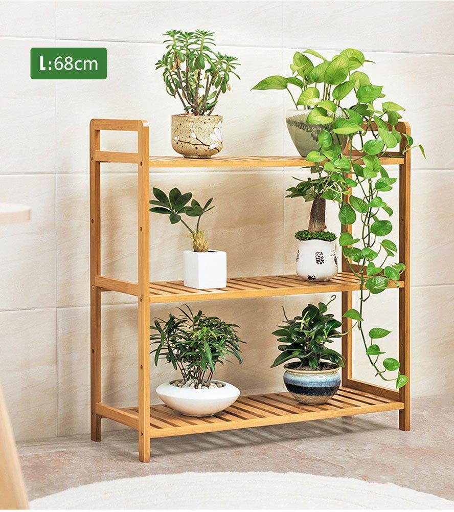 LXLA- Expositor de madera en maceta de planta en maceta ...