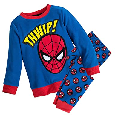 7ec0407cd3 Amazon.com  Marvel Spider-Man Fleece Sleep Set for Boys  Clothing