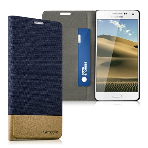 4 opinioni per kwmobile Cover Flip per Samsung Galaxy A5 (2015)- Custodia a libro protettiva
