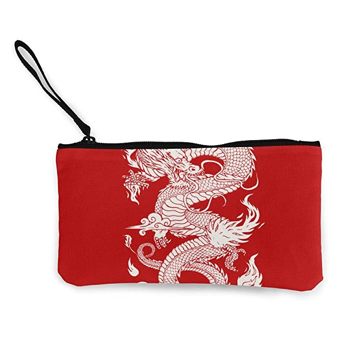 Amazon.com: Monedero para mujeres y niñas, diseño de dragón ...