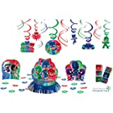 PJ Masks Party Decoration Set with Decorating Kit & Hanging Swirls