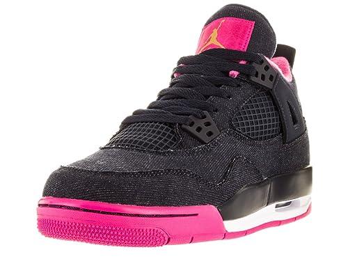 Nike Air Jordan 4 Retro GG, Zapatillas de Running para Niñas: Amazon.es: Zapatos y complementos