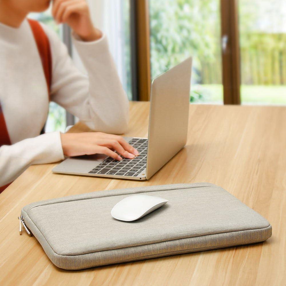 AtailorBird Housse de Protection Ordinateur 14 Rouge Vineux Pochette PC Portable Ultrabook Sacoche Laptop Compatible 14 Pouces