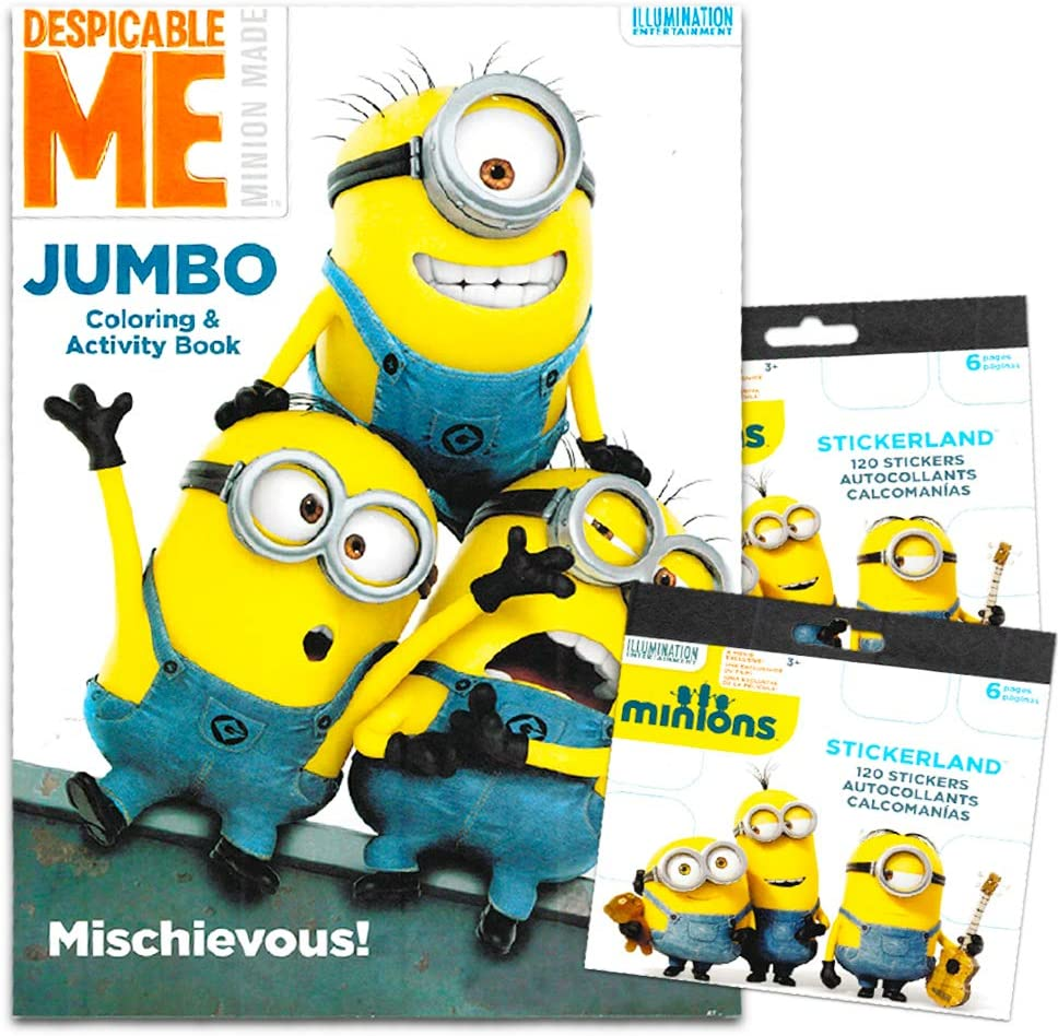 - Amazon.com: Despicable Me Minions Coloring Book With Stickers