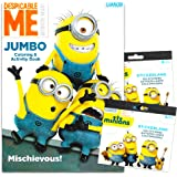 Despicable Me Minions Coloring Book with Stickers ~ over 200 Minions Stickers!